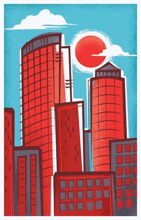 Vintage Travel Poster of Boston