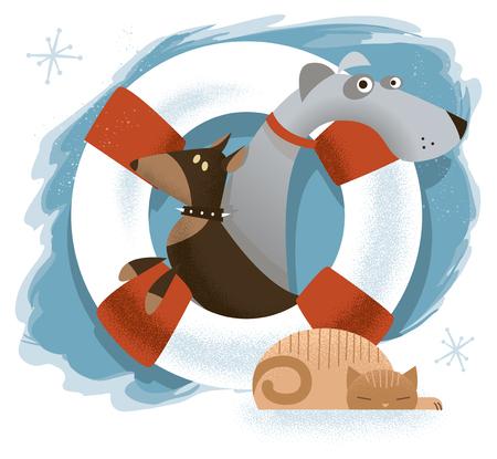 Animal Rescue Organization Logo