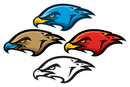Bird of Prey Mascot Head