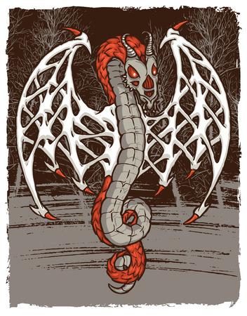 Bone Dragon Spirit 向量圖像