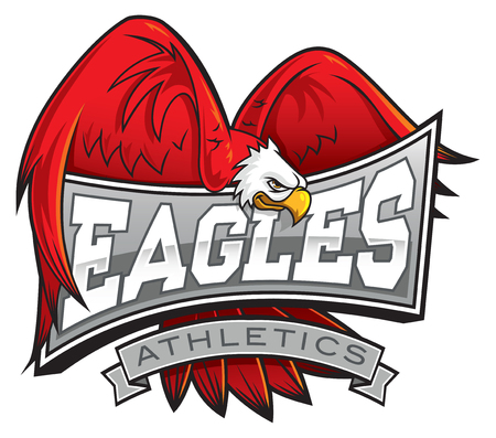 Eagles Athletic Department Mascot 免版税图像 - 114221454