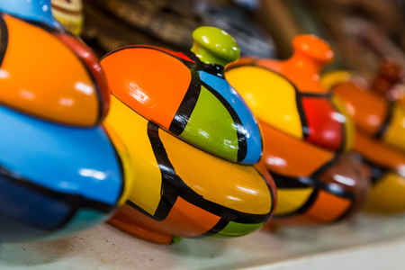 Pretty & colourful pottery from the famous Santander family in Trinidad, Cuba.