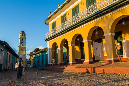 Sunset in the beautiful old city of Trinidad in Cuba.  It would have been easy to explore the cobbled streets for days on end - there was life, characters & colours every which way.