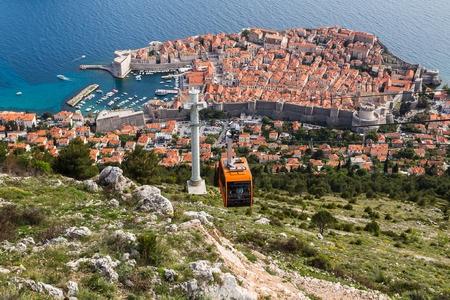 Dubrovnik - easily one of Europes most stunning cities, pictured on the edge of the Adriatic & at the foot of the Dalmatia region which hugs much of the country�s coastline.