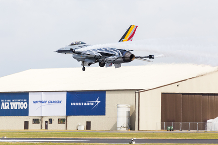 Belgian F-16 Demonstration Aircraft Editorial