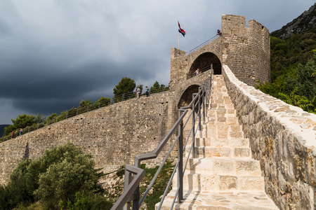 One of the seven bastions which make up the famous walls of Ston, (together with forty-one towers and three forts) some of which date back to the early 16th century.