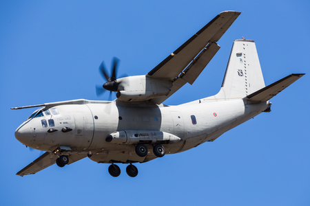 Italian Air Force C-27J Spartan pictured at the 2018 Royal International Air Tattoo at RAF Fairford in Gloucestershire.