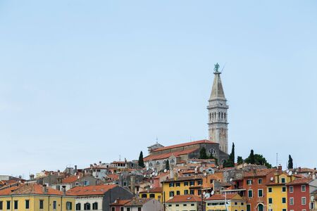 The charming coastal town of Rovinj - the pearl of the Istria region of Croatia.