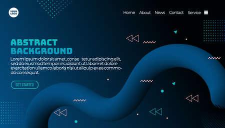 3d flow shape creative design set. Dynamic liquid color wave backgrounds. Templates set for brochures, posters, banners, flyers and cards. Vector illustration