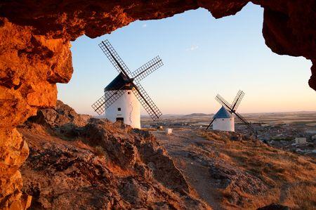 LaMancha wind mills