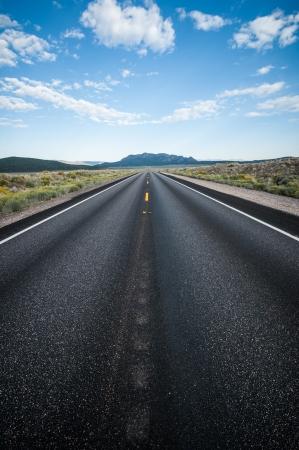 southwest usa: Highway into Death Valley nevada southwest usa