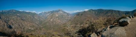 kings canyon national park: Kings canyon national park panorama