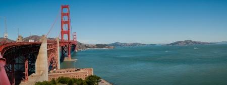 Golden Gate Bridge in San Francisco, California, USA 2013 photo