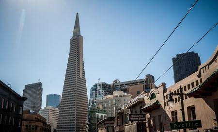 San Francisco Transamerica Pyramid Skyline view photo