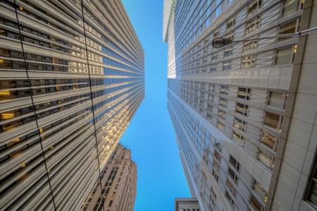 San Francisco financal district Downtown Skyline view