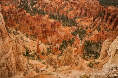 Canyon Bryce great rocks amphitheater west USA utah 2013 photo