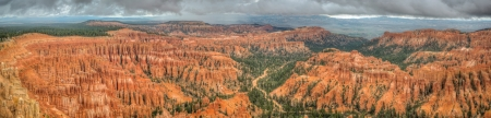 Canyon Bryce Panorama amphitheater west USA utah 2013 photo