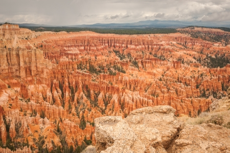 Bryce valley Canyon amphitheater west USA utah 2013 photo