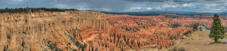 Utha canyon panorama Bryce Canyon amphitheater west USA utah 2013 photo