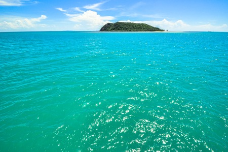koh tao: turquoise water Perfect tropical bay on Koh Tao a paradise island in Thailand, Asia  Stock Photo