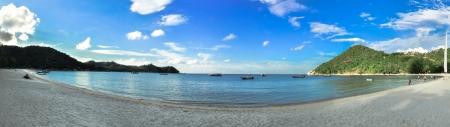 panorama beach: Panorama Beach in Koh Phangan, Koh Ma, Thailandia, Asia. Archivio Fotografico