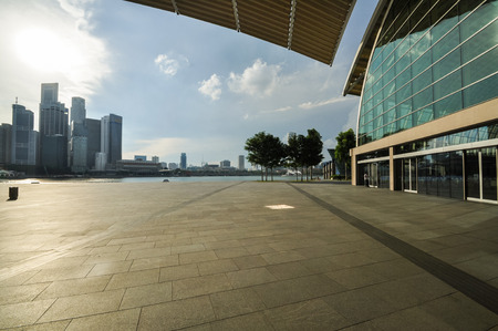 finacial: Singapore city skyline finacial district