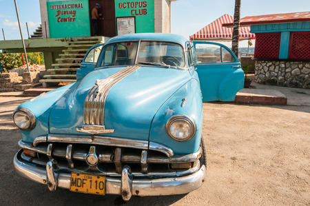 January 5,2013 in Havana.Until a recent law passed in 2011,old cars like this were the only ones that could be bought and sold by people in Cuba