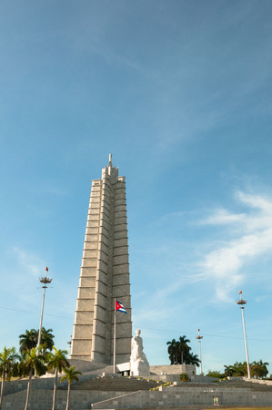 HAVANA, CUBA, 2013. memorial monument in the Revolution Square