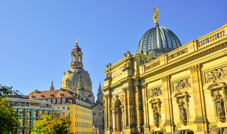 dome type: Church Frauenkirche in Dresden Germany area