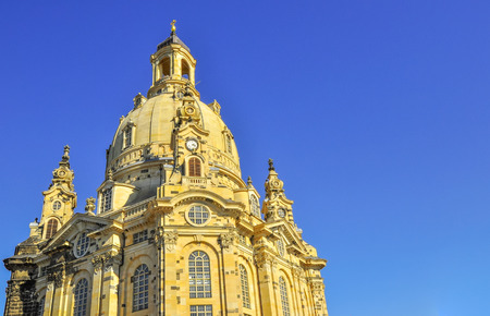 Church Frauenkirche in Dresden Germany area photo