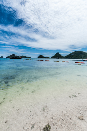 View point of Ang Thong Islands national park ,Thailand photo