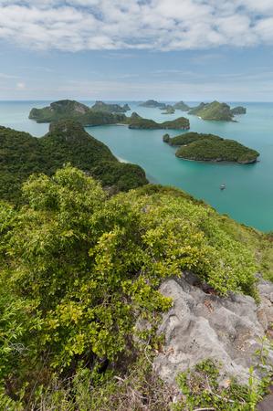 ang thong: View point of Ang Thong Islands national park, Thailand