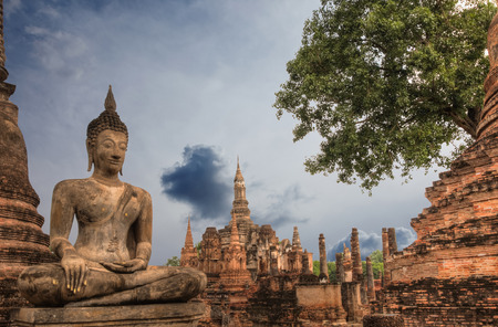 historical: Sukhothai historical park, Thailand