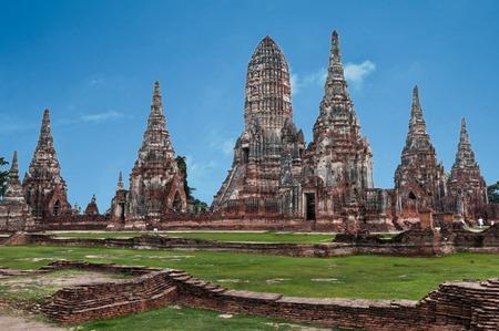 ayuttaya: Ancient city of Ayuttaya, near bangkok Thailand