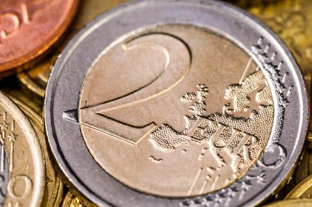2 50:   Euro Coin