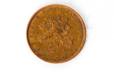 copper coin: 10 Czech Krone Brno Coin copper