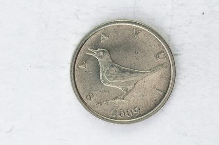 coin silver: 1 Kune Croatia Coin silver