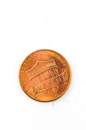 us coin: 1 US Cent coin copper