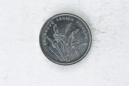 coin silver:  Chinese Coin silver