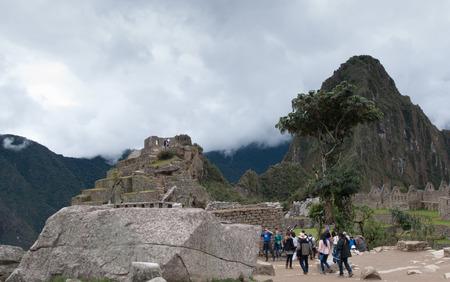 machu picchu: Machu Picchu (Peru, South America), a UNESCO World Heritage Site Editorial