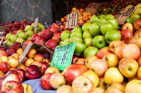 murillo: Fruit market in La Paz, Bolivia south america