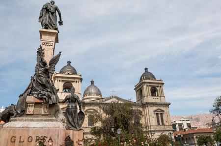 legislature: Plaza Murillo in La Paz, Bolivia south america