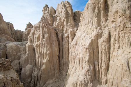 LUNA: Valle de la Luna in La Paz,Bolivia south america Stock Photo