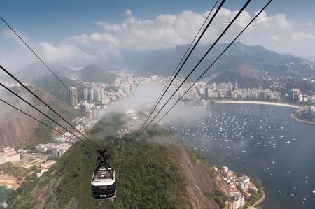 Rio de Janeiro, Sugar leaf view landscape panorama Brazil