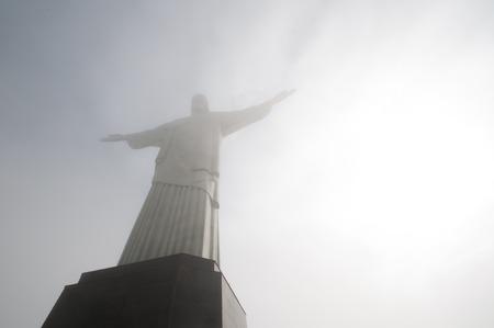 rio de janeiro: Corcovado Hill in Rio de Janeiro, Brazil Editorial