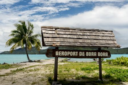 borabora: Airport Bora Bora Pacific Region French Polynesia