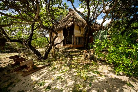 polynesia: stormy weather on Moorea island French Polynesia in 2016