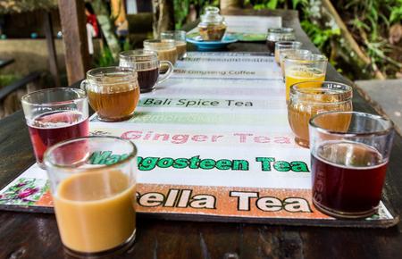Coffee Luwak made by the luwak cat. Bali, Indonesia. Stock Photo
