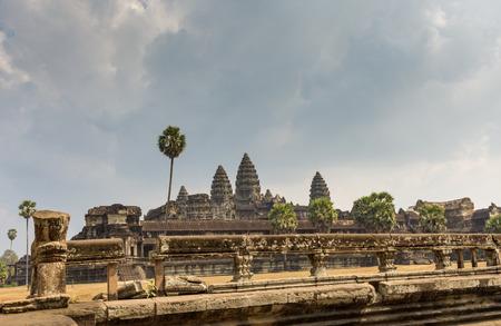 raider: Angkor Wat temple, Siem Reap, Cambodia Hinduism Khmer culture buildings Stock Photo
