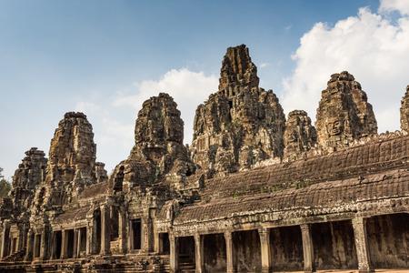 prasat bayon: Prasat Bayon Khmer temple, Angkor Thom, Siem reap, Cambodia